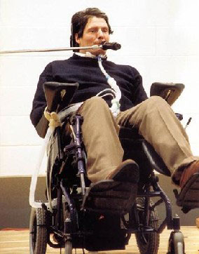 Christopher Reeve, leziune completa a maduvei spinarii